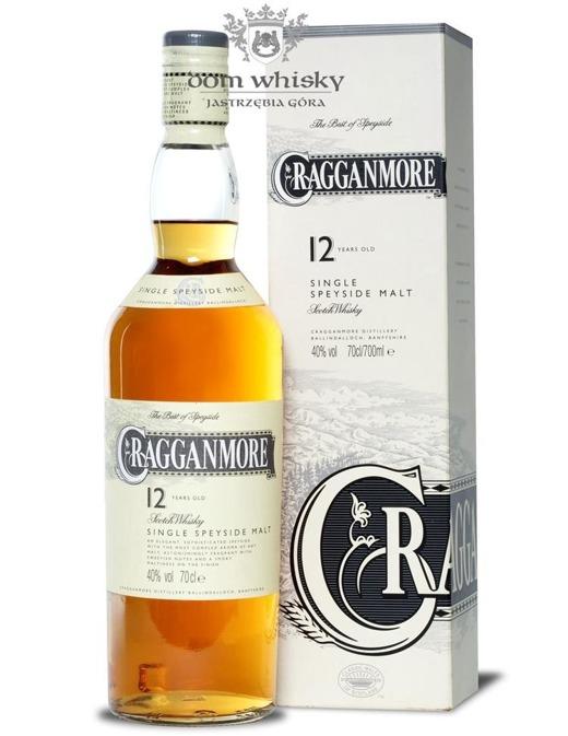 Cragganmore 12-letni / 40% / 0,7l