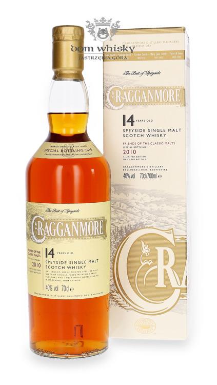 Cragganmore 14-letni (Bottled 2010) / 40% / 0,7l