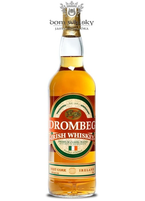 Drombeg Irish Whiskey Double Wood / 40% / 0,7l