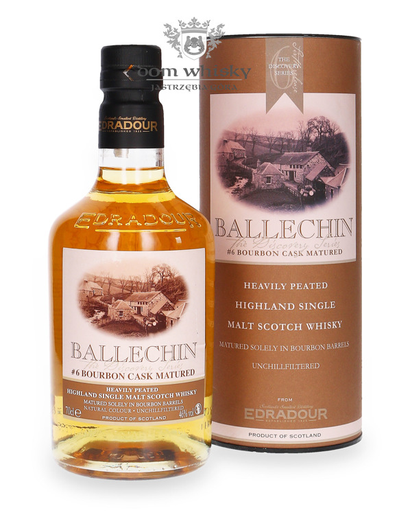 Edradour Ballechin # 6 Bourbon Cask / 46% /0,7l
