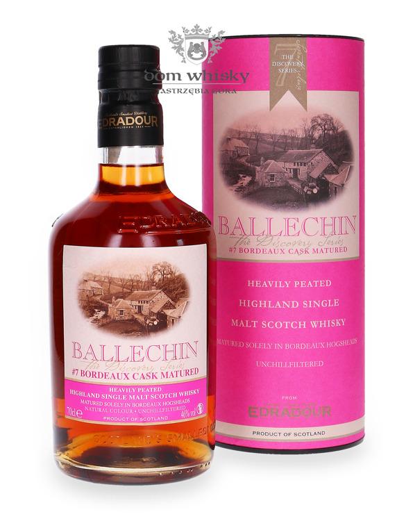 Edradour Ballechin # 7 Bordeaux Cask / 46% /0,7l