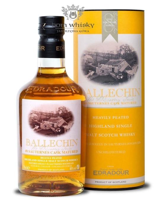 Edradour Ballechin # 8 Sauternes Cask / 46% / 0,7l