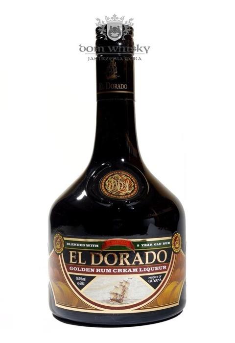 El Dorado Golden Rum Cream Liqueur (Guyana) / 16,5% / 0,7l