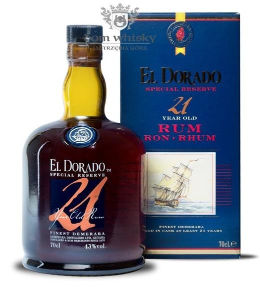 El Dorado Rum 21 letni (Guyana) / 43% / 0,7l