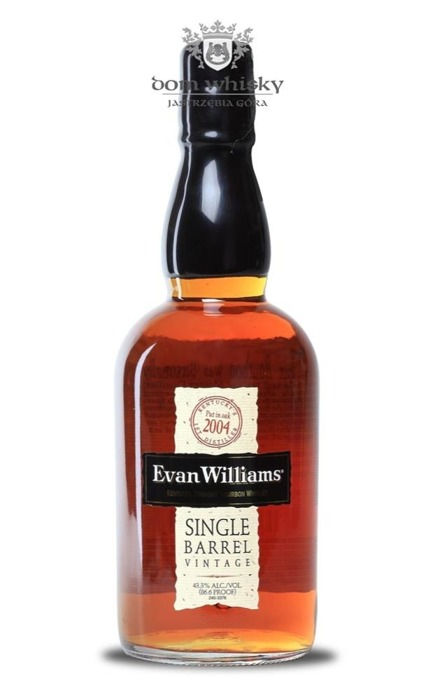Evan Williams Single Barrel 2004 / 43,3% / 0,7l
