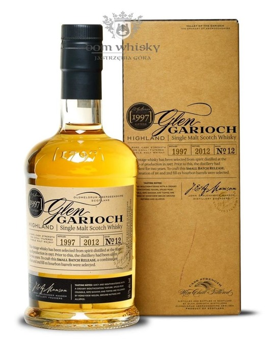 Glen Garioch 1997 (Bottled 2012) Batch No. 12 /56,7%/0,7l