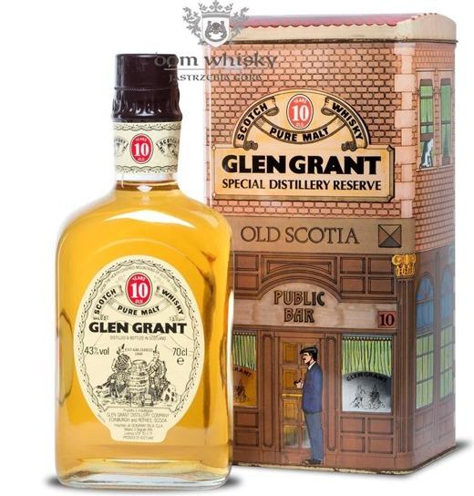 Glen Grant 10-letni Pure Malt (Decorative Tin Box) / 43% / 0,7l