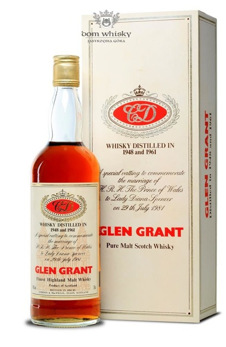 Glen Grant C&D,(D. 1948 and 1961)Gordon MacPhail / 40%/0,75l
