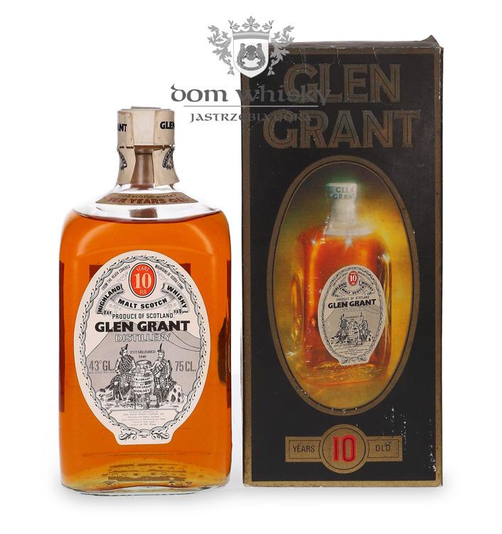 Glen Grant Square 10-letni / 43% / 0,75l