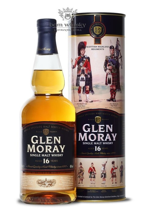 Glen Moray 16-letni / 40% / 0,7l