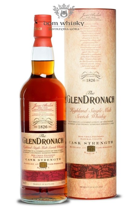 GlenDronach Cask Strength Batch # 1 / 54,8% / 0,7l