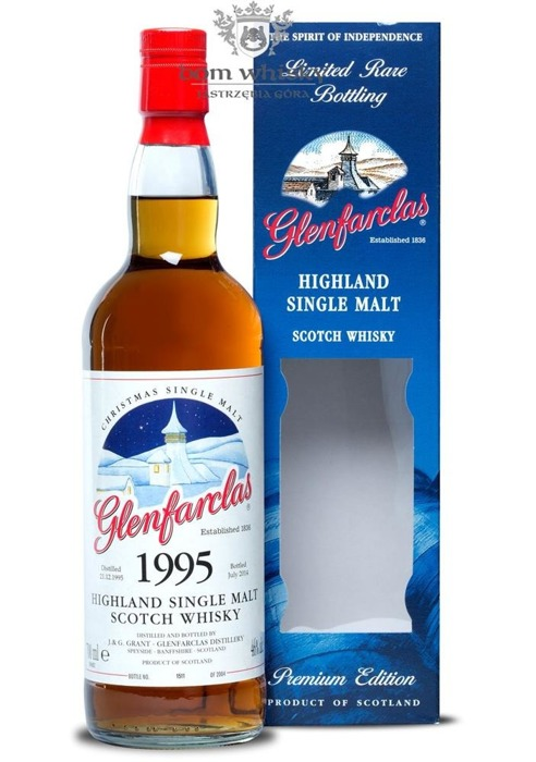 Glenfarclas 1995 (Bottled 2014) Christmas Edition / 46% / 0,7l