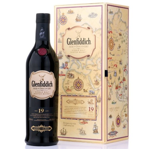 Glenfiddich 19-letni Age of Discovery Madeira Wood / 40% / 0,7l