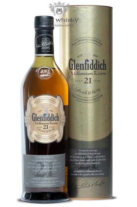 Glenfiddich 21-letni Millennium Reserve / 40% / 0,7l