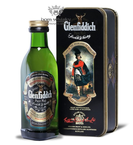 Glenfiddich Pure Malt, Clan Montgomerie / 43% / 0,05l