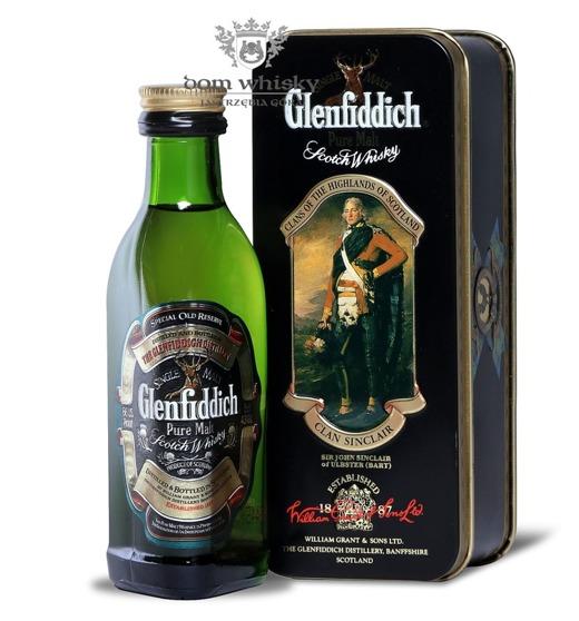 Glenfiddich Pure Malt, Clan Sinclair / 43% / 0,05l