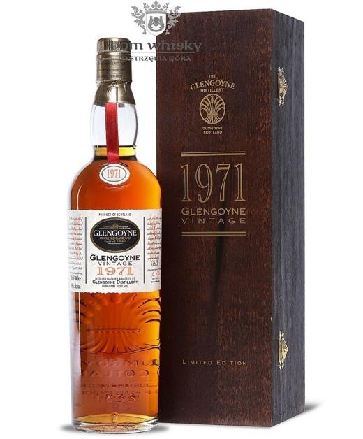 Glengoyne 1971 Vintage (Bottled 1996), 25-letni / 48,5% / 0,7l