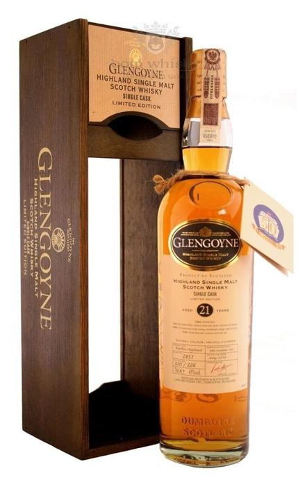 Glengoyne 21-letni Single Cask (D.1990, B.2012) / 45% / 0,7l