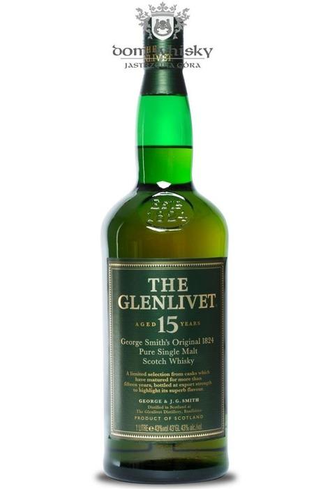 Glenlivet 15-letni / 43% / 1,0l