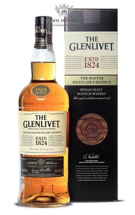 Glenlivet Master Distiller's Reserve / 40% / 1,0l