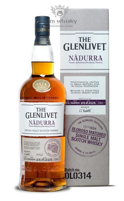 Glenlivet Nadurra Oloroso Sherry OLO314 / 48% / 1,0l