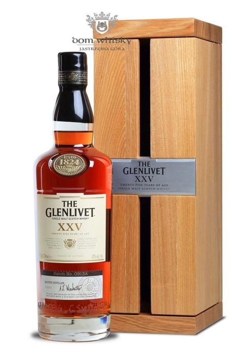 Glenlivet XXV, 25-letni / 43% / 0,7l
