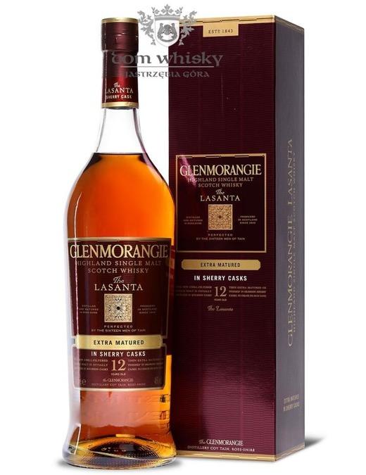 Glenmorangie Lasanta 12-letni / 46% / 1,0l