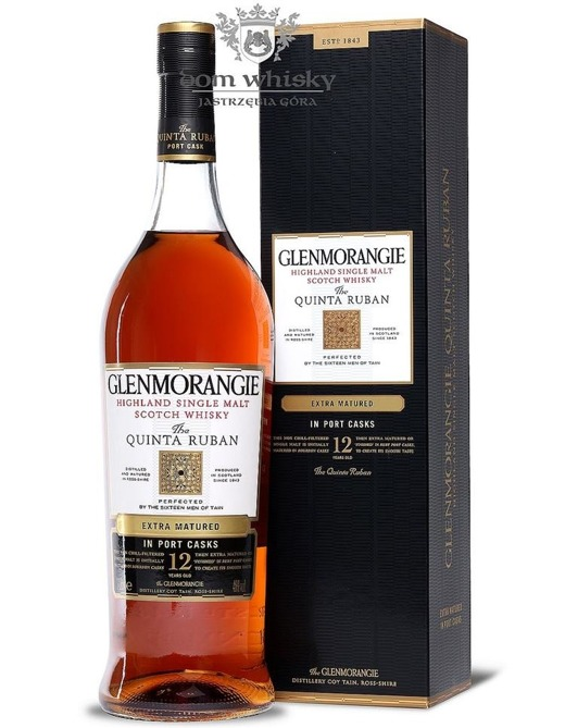 Glenmorangie Quinta Ruban, 12-letni / 46% / 1,0l