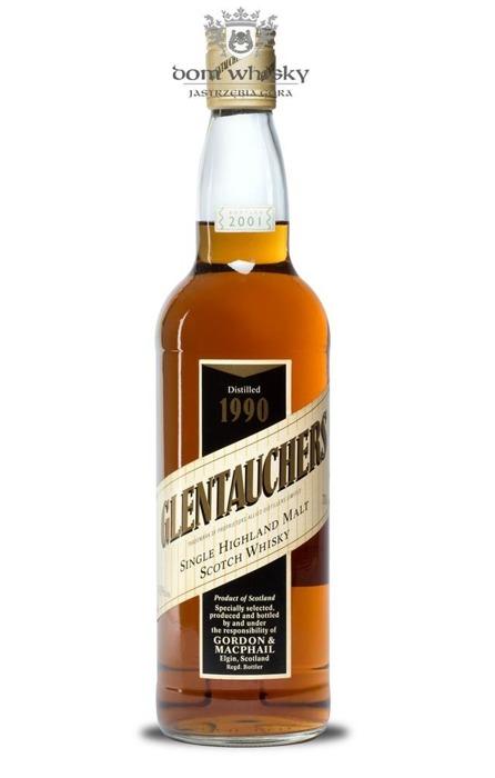 Glentauchers 1990 (Bottled 2001) Gordon & MacPhail / 40% / 0,7l