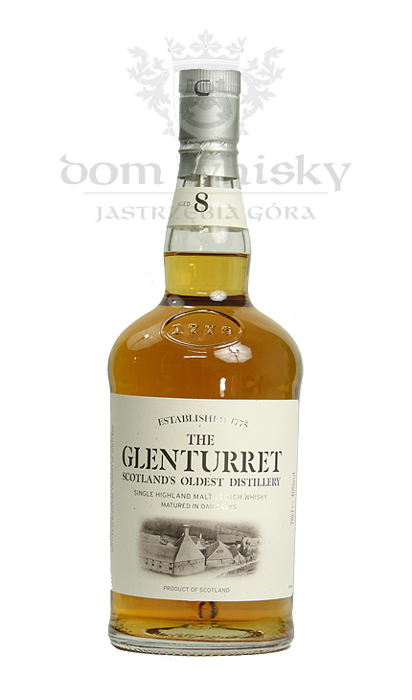 Glenturret 8-letni / 40% / 0,7l
