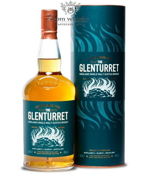 Glenturret Peated Edition / 40% / 0,7l