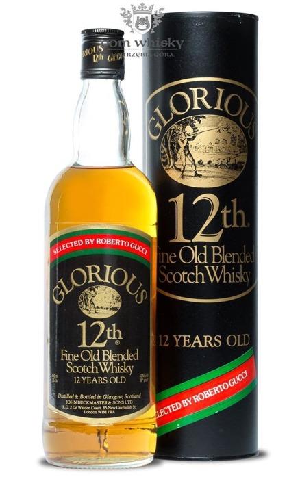 Glorious 12 letni Fine Old Blended Scotch Whisky / 43% / 0,75l
