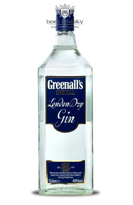 Greenall's Special London Dry Gin / 48% / 1,0l