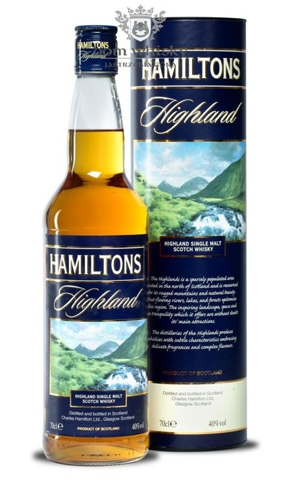Hamiltons Highland Single Malt Whisky / 40% / 0,7l