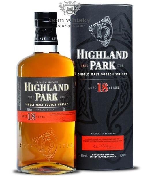 Highland Park 18-letni / 43% / 0,7l