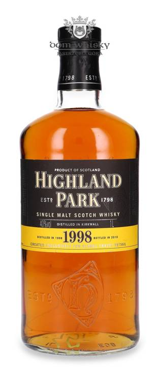 Highland Park 1998 Vintage (Bottled 2010) / 40% / 1,0l