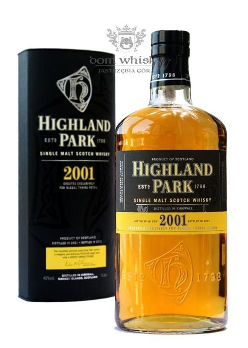 Highland Park 2001 Vintage (Bottled 2012) / 40% / 1,0l