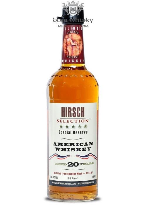 Hirsch Selection 20 letni American Whiskey D.1987 /48%/0,75l