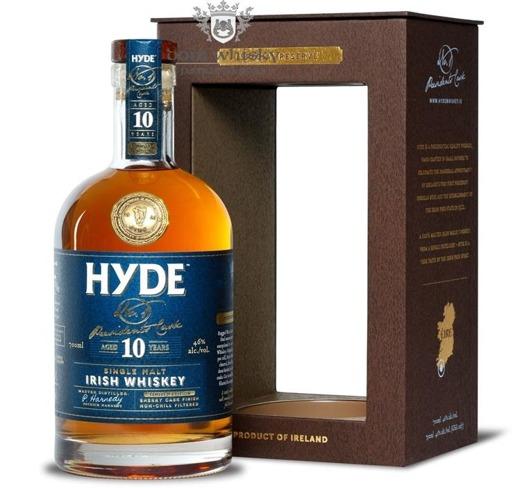 Hyde 10 letni Irish Whiskey Sherry Cask Finish / 46% / 0,7l