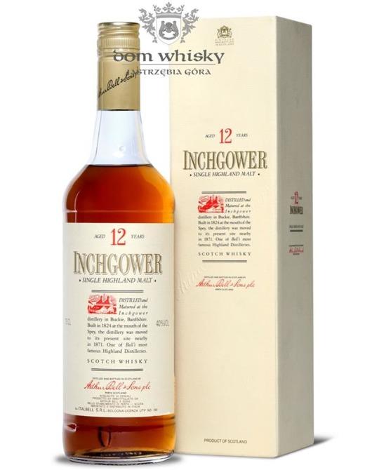 Inchgower 12-letni (Bottled 1980s)/ 40%/0,75l