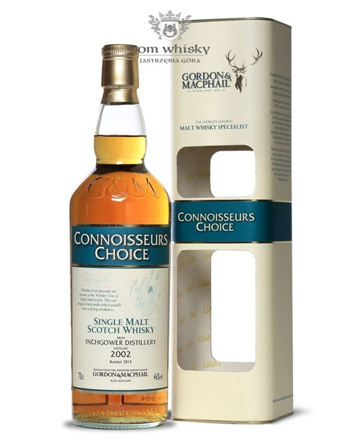 Inchgower 2002, (B.2015) G&M, Connoisseurs Choice / 46% / 0,7l
