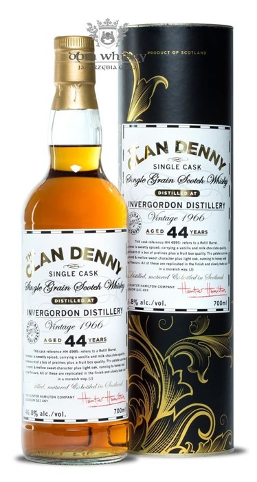 Invergordon 44 letni 1966 Vintage Single Grain / 46,8% / 0,7l