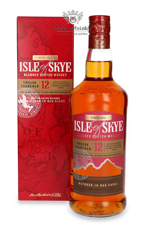 Isle of Skye 12-letni / 40% / 0,7l