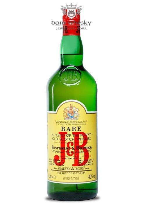 J&B Blended Scotch Whisky / Import. Torino / 40% / 1,0l