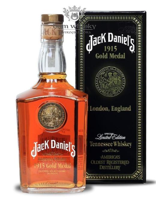 Jack Daniel's Gold Medal 1915, London /Brak opak./ 43% / 1,0l