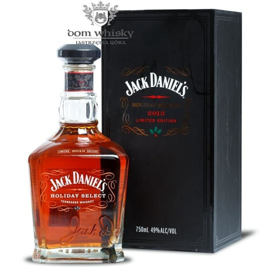 Jack Daniel's Holiday Select 2013 Limited Edition / 49% / 0,7l