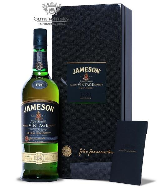 Jameson Rarest Vintage Reserve Bottled 2007 / 46% / 0,75l