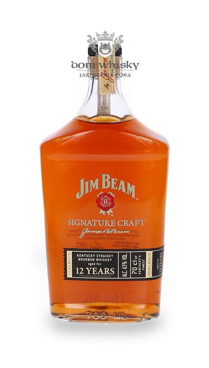 Jim Beam 12-letni Signature Craft / 43%/ 0,7l