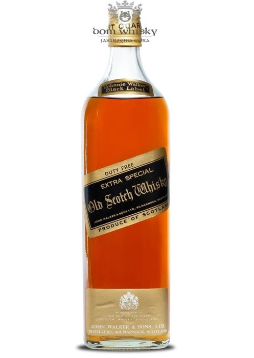 Johnnie Walker Black Label Extra Special Duty Free / 40%/1,0l