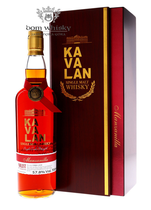Kavalan Solist Manzanilla Single Malt Cask Strength /57,8%/0,7l